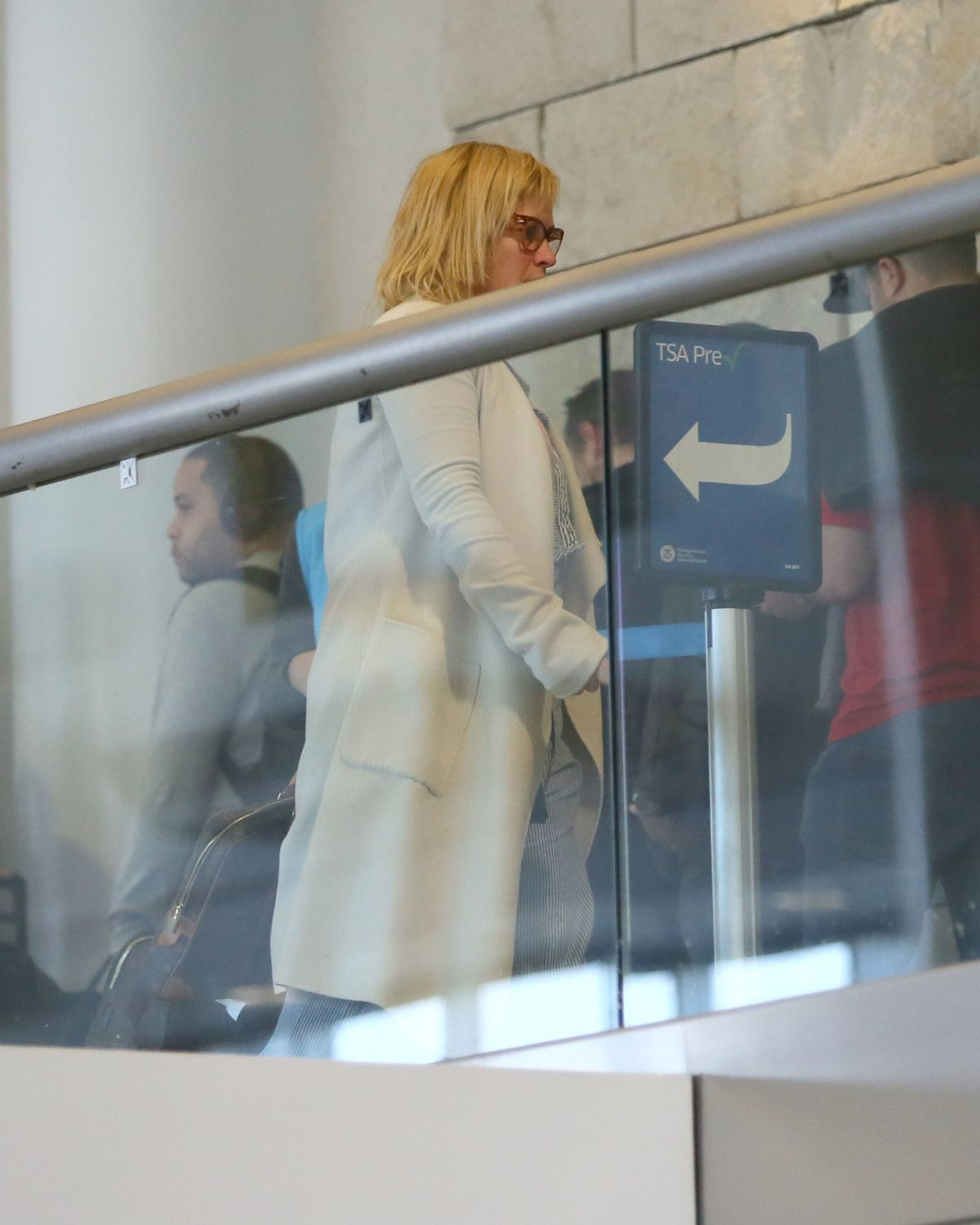 PATRICIA ARQUETTE at LAX Airport in Los Angeles 01/16/2017