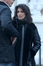 PENELOPE CRUZ Out and About in London 01/20/2017