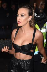 PERRIE EDWARDS Night Out in London 01/08/2017