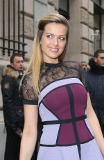 PETRA NEMCOVA at Elie Saab Fashion Show in Paris 01/25/2017
