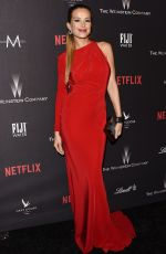 PETRA NEMCOVA at Weinstein Company and Netflix Golden Globe Party in Beverly Hills 01/08/2017
