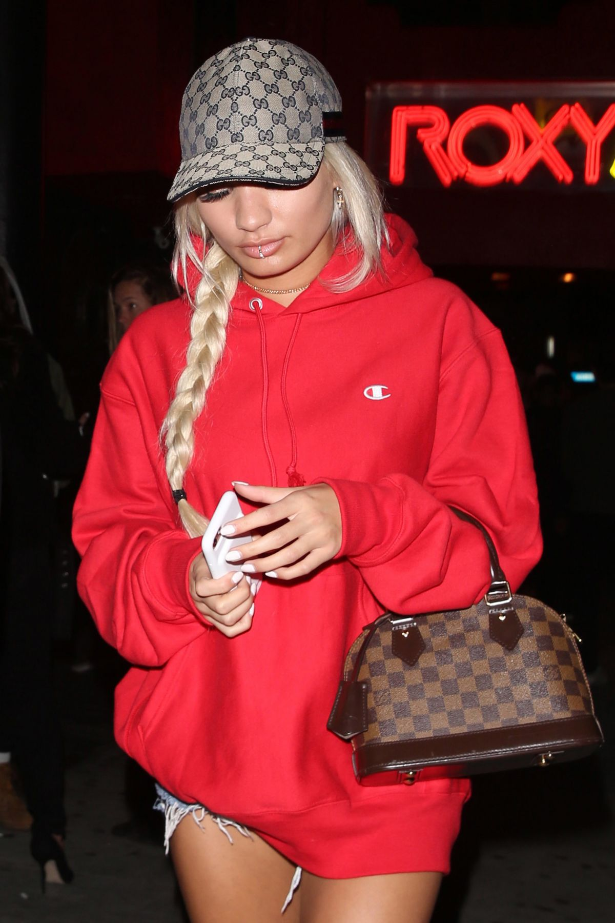 PIA MIA PEREZ Night Out in West Hollywood 01/24/2017