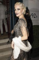 PIXIE LOTT Arrives at Her 26th Birthday Party in London 01/22/2017