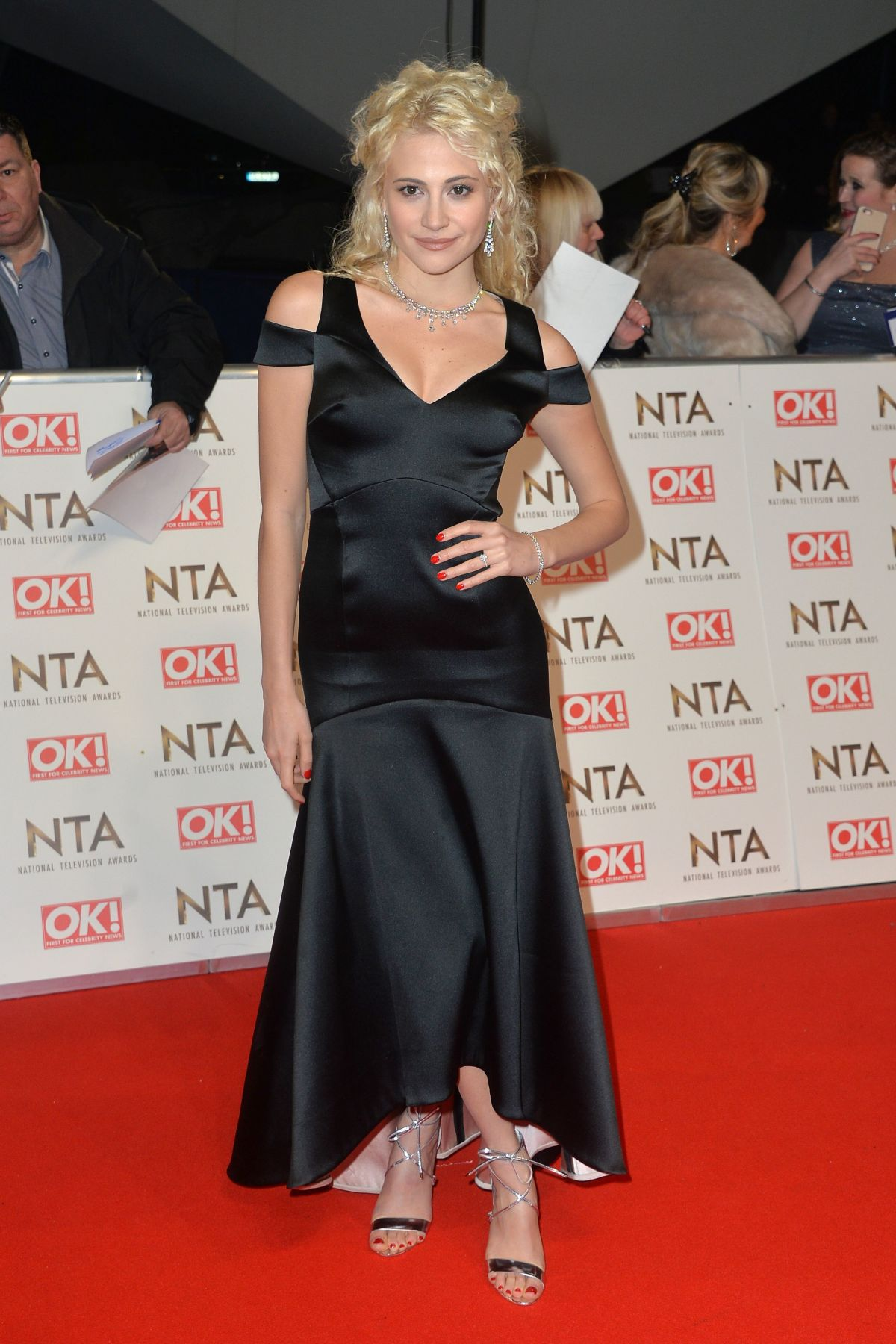 PIXIE LOTT at National Television Awards in London 01/25/2017