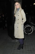 POPPY DELEVINGNE and LAURA BAILEY at Chiltern Firehouse in London 01/19/2017