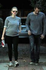 Pregnant AMANDA SEYFRIED and Thomas Sadoski Out in Studio City 01/15/2017