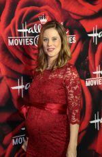 Pregnant ASHLEY WILLIAMS at Hallmark Channel 2017 TCA Winter Press Tour in Pasadena 01/14/2017