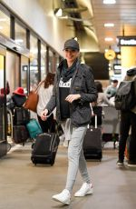 Pregnant GAL GADOT at Los Angeles Inernational Airport 01/06/2017