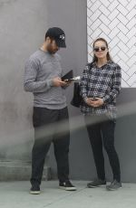 Pregnant NICOLE PORTMAN Out and About in Los Feliz 01/05/2017