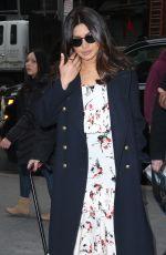 PRIYANKA CHOPRA Arrives at ABC Studios in New York 01/29/2017