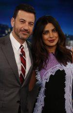 PRIYANKA CHOPRA at Jimmy Kimmel Live 01/19/2017