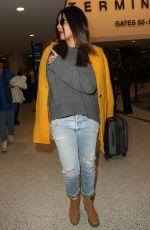 PRIYANKA CHOPRA at LAX Airport in Los Angeles 01/18/2017