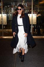 PRIYANKA CHOPRA Leaves Today Show in New York 01/30/2017