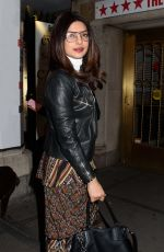 PRIYANKA CHOPRA Night Out in New York 01/26/2017