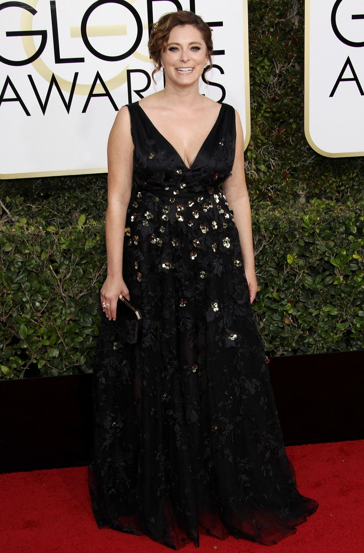 RACHEL BLOOM at 74th Annual Golden Globe Awards in Beverly Hills 01/08/2017
