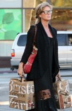 RACHEL HUNTER Out Shopping in West Hollywood 01/29/2017