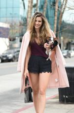 RACHEL MCCORD Out and About in Los Angeles 01/07/2017