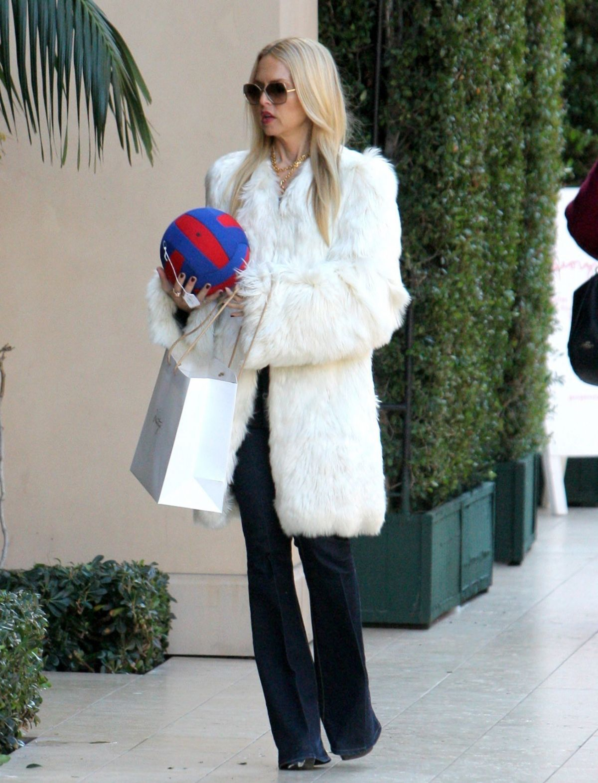 RACHEL ZOE Out and About in Los Angeles 01/01/2017