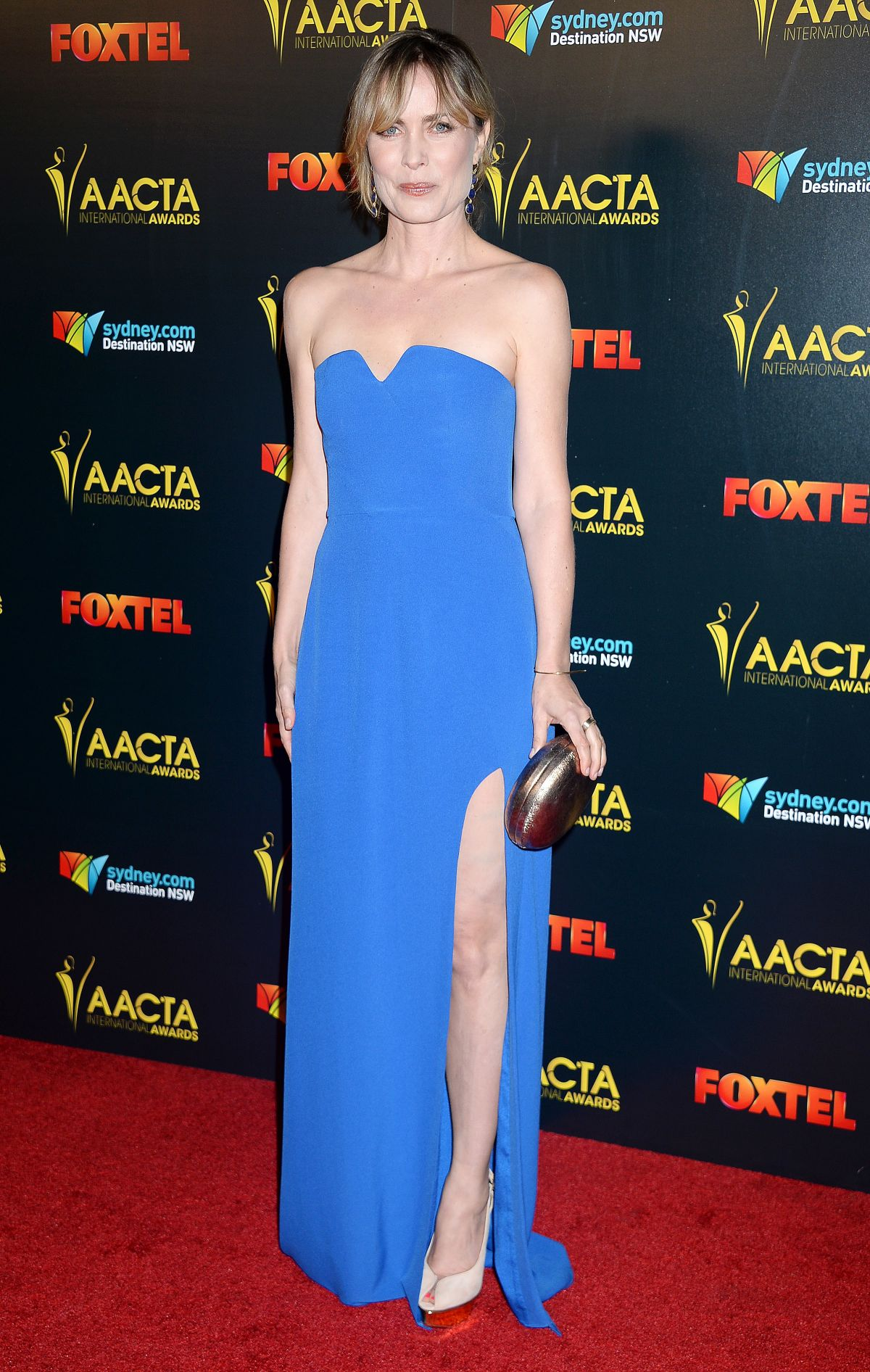 RADHA MITCHELL at AACTA International Awards 2017 in Hollywood 01/06/2017