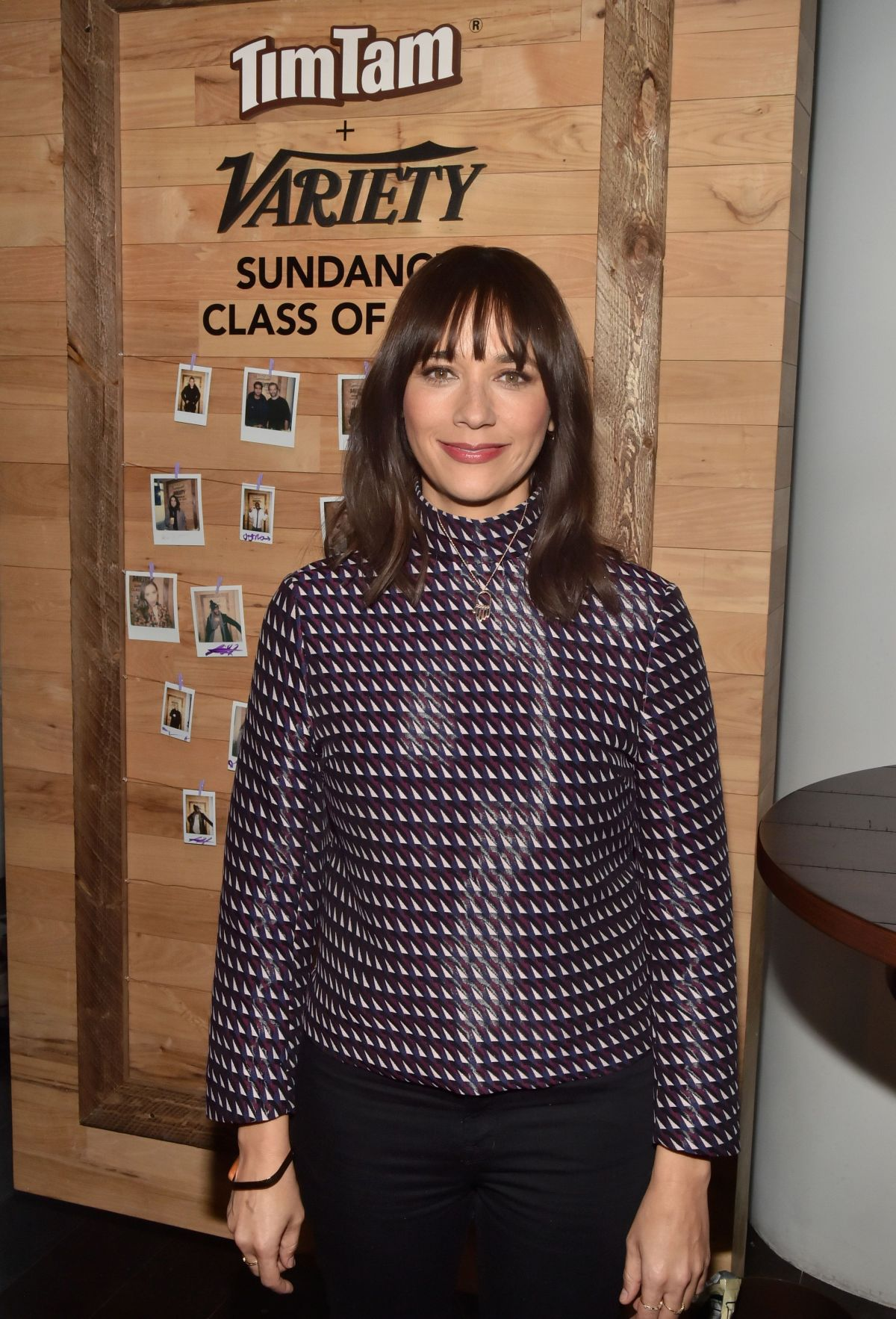 RASHIDA JONES at Variety Studio at 2017 Sundance Film Festival 01/23/2017
