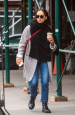RASHIDA JONES Out and About in New York 01/30/2017