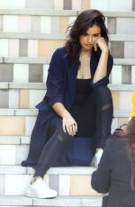 REBECCA BLACK on the Set of a Photoshoot in West Hollywood 01/06/2017