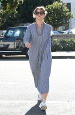 REBECCA GAYHEART Out for Lunch in Los Angeles 01/30/2017