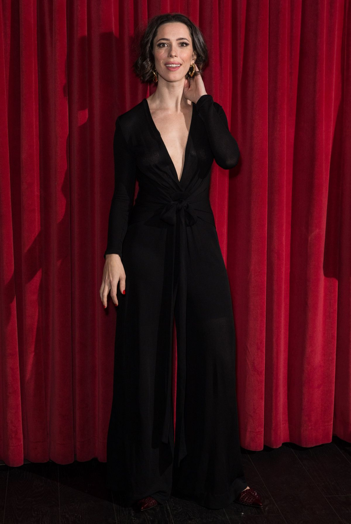 REBECCA HALL at Christine Special Screening in London 01 ...  REBECCA HALL at...