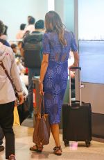 REBECCA JUDD at Airport in Sydney 01/30/2017