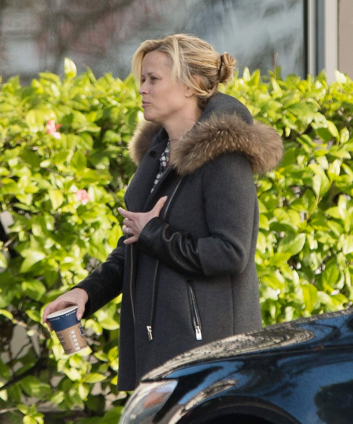 REESE WITHERSPOON Arrives on the Set of