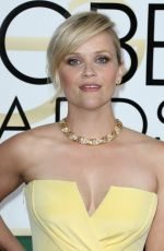 REESE WITHERSPOON at 74th Annual Golden Globe Awards in Beverly Hills 01/08/2017