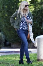 REESE WITHERSPOON in Jeans Out in Brentwood 01/28/2017