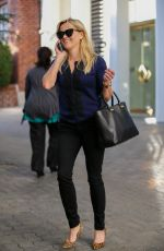 REESE WITHERSPOON Leaves Her Office in Beverly Hills 01/30/2017