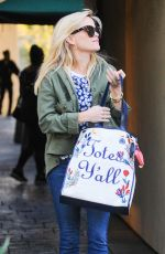 REESE WITHERSPOON Out Shopping in Brentwood 01/28/2017