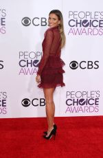 RENEE BARGH at 43rd Annual People's Choice Awards in Los Angeles 01/18/2017