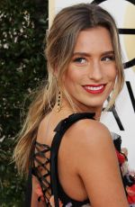 RENEE BARGH at 74th Annual Golden Globe Awards in Beverly Hills 01/08/2017