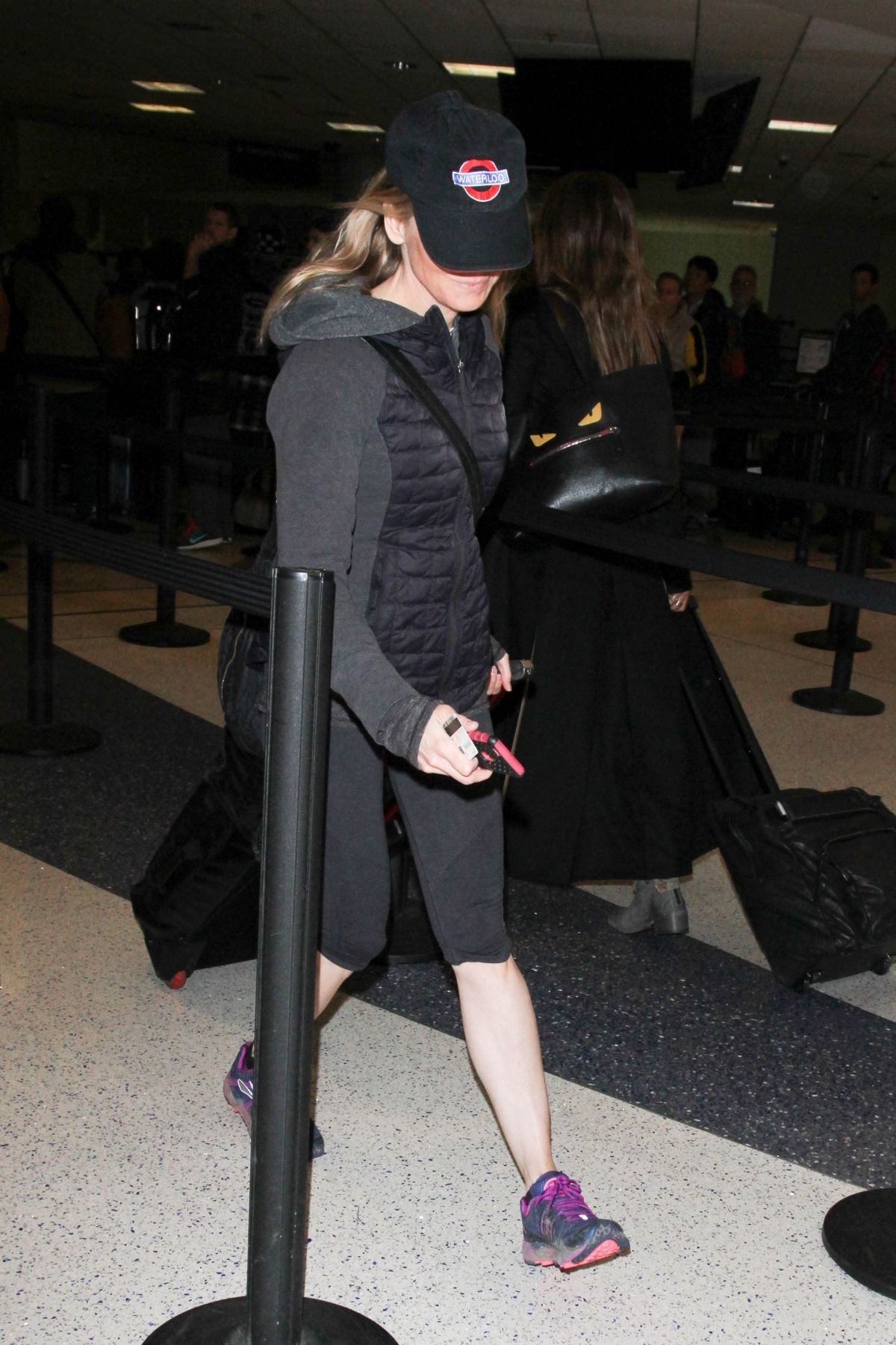 RENEE ZELLWEGER at Los Angeles International Airport 01/18 ...