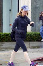 RENEE ZELLWEGER in Leggings Out in West Hollywood 01/12/2017