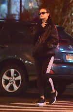 RIHANNA Heading to a Gym in New York 01/23/2017