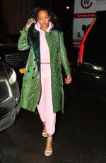 RIHANNA Night Out in New York 01/10/2017
