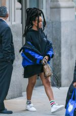 RIHANNA Out in New York 01/12/2017