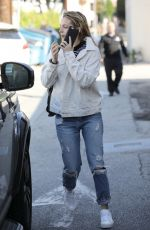 RILEY KEOUGH Leaves a Hair Salon in West Holywood 01/05/2017