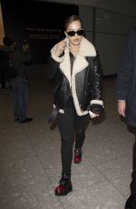RITA ORA at Heathrow Airport in London 01/21/2017