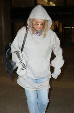 RITA ORA at Los Angeles International Airport 01/26/2017