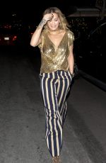 RITA ORA Out for Dinner at Matsuhis Sushi Restaurant in Los Angeles 01/27/2017