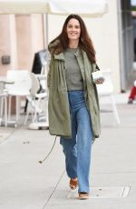 ROBIN TUNNEY Out for Shopping in Beverly Hills 01/04/2017