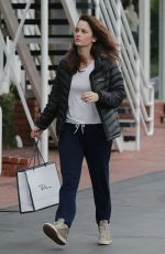 ROBIN TUNNEY Out Shopping in West Hollywood 01/10/2017
