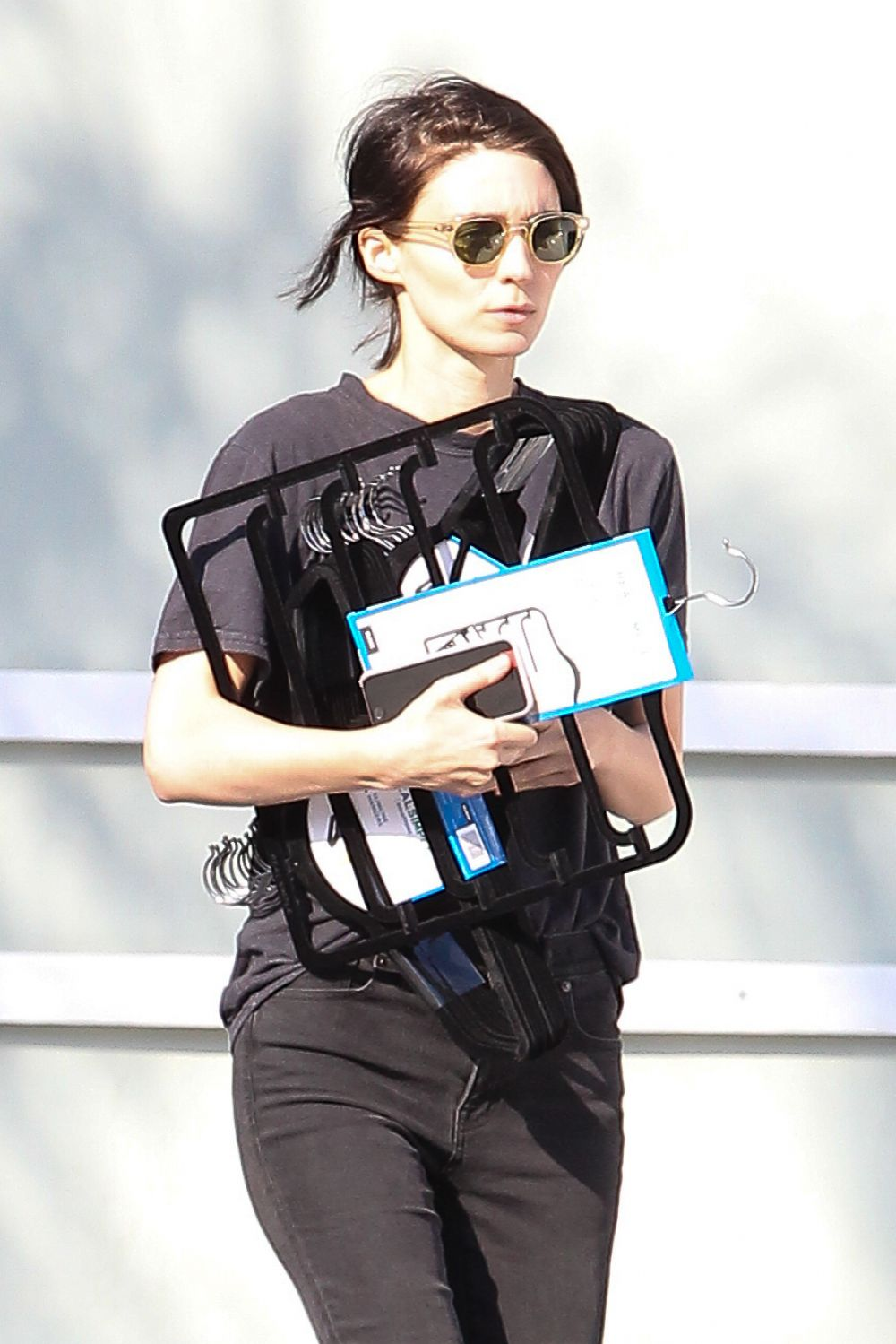 ROONEY MARA Out and About in Studio City 01/16/2017