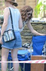 ROSE BYRNE On the Set of a Movie in Sydney 01/17/2017