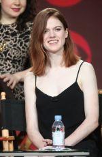 ROSE LESLIE at CBS 2017 Winter TCA Tour Panel in Pasadena 01/10/2017